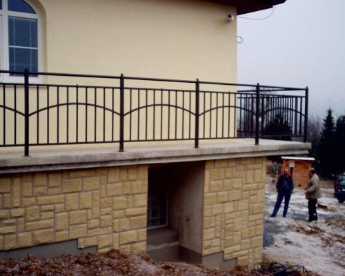 0024. venkovní schodiště a zábradlí, RD Ostopovice