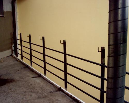 0030. ocelové zábradlí balkonu, RD Popice