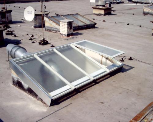 0084. větratelný světlík, administrativní budova, Žďár nad Sázavou