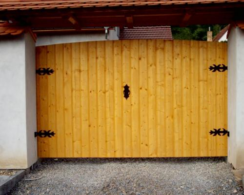 0089. pojezdová vrata Kurdějov