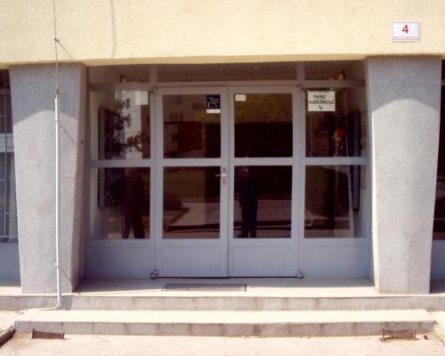 0094. vchodová stěna panelový dům, Brno Juliánov